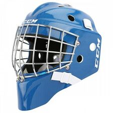 New CCM 7000 Goal goalie face mask size Yth blue carbon youth ice hockey helmet