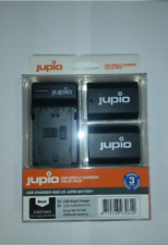 Jupio 2x Sony Np-fz100 Battery Single USB Charger Kit