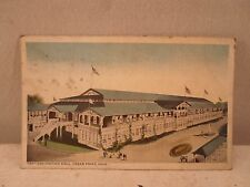 Cedar Point Oh Ohio, Convention Center, early postcard,  1919