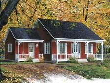 Kl. Einfamilienhaus zzgl. Veranda - kanadisch/amerik. Holz-Haus, ab 85 m², Neub.