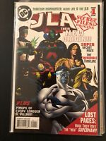 JLA: Their New Origin #1 high grade key comic 26-58