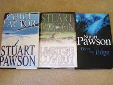 Lot 3 Stuart Pawson Mysteries Charlie Priest Chill Factor Over the Edge + 1 more