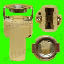 CE CERTIFIED G9 Light Bulb Halogen Lamp Holder + M10 BRACKET Fitting UK SELLER.