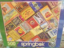 Matchbox Railroad Vintage Collector 500pc Jigsaw Puzzle Springbok 33-01549