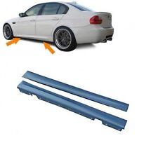 2 BAS DE CAISSE PACK M AVEC APPRET POUR BMW SERIE 3 E90 ET E91 BERLINE TOURING