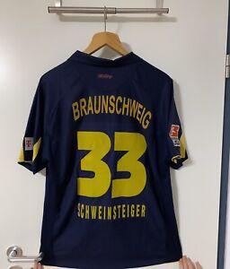 Eintracht Braunschweig Jako Matchworn Trikot Nr. 33 SCHWEINSTEIGER Gr. XL