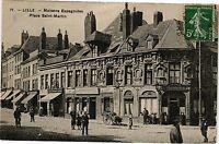 CPA Tourcoing-Maisons Espagnoles-Place Saint Martin (188310)