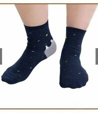Iconic Cute Cat at Night Socks