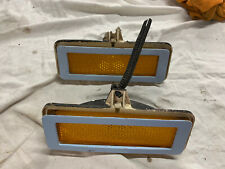 71-78 Ford Pinto Front Marker Light Assemblies Both Sides 1971-1978 OEM