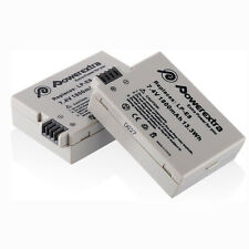 2 Pack LP-E8 Li-ion Battery For Canon Rebel T2i T3i T4i T5i Kiss X5 EOS 550D US