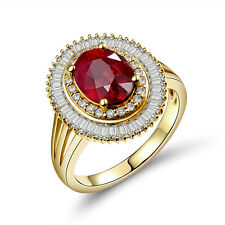Sparkle Diamond!  14K Yellow Gold  Enagement Tourmaline Wedding Vintage Ring