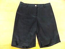 NWT Jones New York Signature Women's Shorts Bermudas Sz 10 Black Welt Pkt
