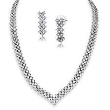 Unbranded Rhodium Round Costume Necklaces & Pendants