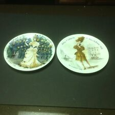 Set Of Two Women Of The Century Collector Plates 1976 And 1978