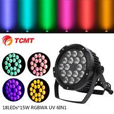270W RGBWA UV 6IN1 18LED Stage Par Light Color Mixing Waterproof IP65 DMX512 DJ