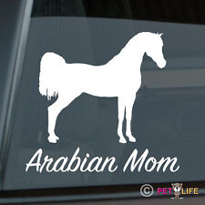 Arabian Mom Sticker Die Cut Vinyl Ver 3 Arab Horse Trailer