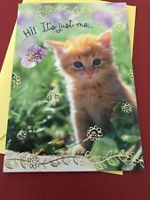 Hallmark Thinking Of You Greeting Card Adorable Kitten