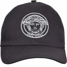 Versace Medusa Logo Baseball Cap, Black/white One Size