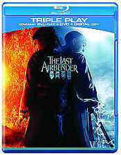 The Last Airbender (Blu-ray and DVD Combo, 2010, 2-Disc Set)