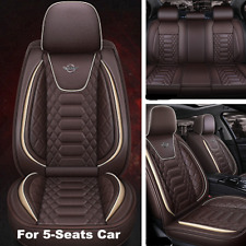 Standard Edition Car Front&Rear Seat Cover PU Leather Seat Cushion Protector