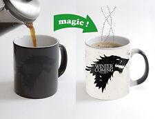 Game of Thrones Stark Magic Color Changing Heat Sensitive Tea Cup Coffee Mug