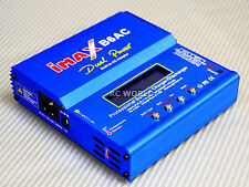IMAX B6AC Lipo Balance CHARGER Dual POWER 50w With PLugs Adapters
