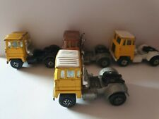 Lesney Matchbox Super Kings Scammell Crusader Tractor Lot of 4 pcs. 1973 used co