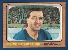 BERNIE GEOFFRION 66-67 TOPPS 1966-67  NO 85 NRMINT 0900