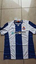 Puma Espanyol Barcelona  Trikot neu Größe L weiß/blau Wunschflock Name möglich