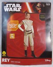 Star Wars Rey Rubies Disney Halloween Cosplay Costume Girls S Sz 4-6 NWT HA2