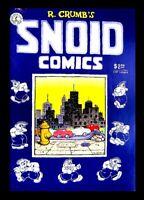 SNOID COMICS, 2ND PRINTING, 1980, R. CRUMB, KITCHEN SINK, UNDERGROUND COMIC