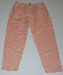 Sussan elastic waist pants Size 10, linen/cotton