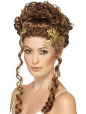 ROMAN GREEK GODDESS ATHENA GOLD LAUREL LEAF COSTUME WREATH HEADPIECE CROWN LADY