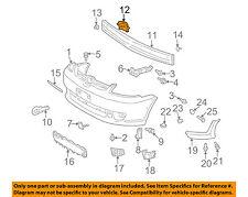 TOYOTA OEM Echo FRONT BUMPER-Reinforcement Beam Mount Bracket Left 5214052020