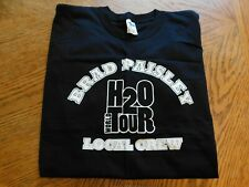 "New Brad Paisley ""H2O"" Concert World Tour Local Crew T-Shirt Size Xl"
