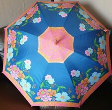 Auto open Umbrella Windproof by Blooming Brollies Floral print.