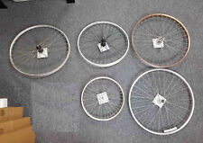 Wall Art Recycled Bicycle Wheel Sculpture Set Found Object Upcycled Art