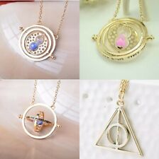 HARRY POTTER DONI DELLA MORTE TRIANGOLO + GIRATEMPO HERMIONE TIME TURNER