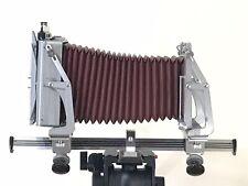 "Graflex Graphic View 4x5"" Large Format Monorail Camera 10 Film Holders Polaroid"