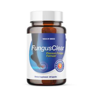 Fungus Clear - 60 Capsules - Premium Probiotic Fungus Blend  NEW