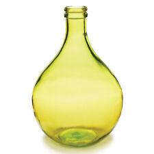 """Marseille Bottle Vase 16"""" European Recycled Glass Modern Farmhouse Napa Home"""