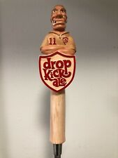 Weston Brewing Co. Drop Kick Ale Full 3D Tap Handle Rare/New