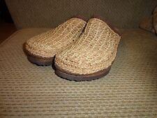 EUC Rare Birkenstock Betula Kenya Weaved Slip On Sandals Shoe Sz EUR 37 US L6 M4