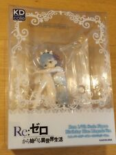 OFFICIAL RE:ZERO REM BIRTHDAY BLUE LINGERIE VER 1/7 COMPLETE FIGURE - NEW SEALED