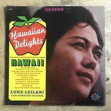 Luke Leilani And His Hawaiian Delights Vinyl LP Spin-O-Rama Records S-188