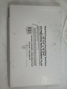 "Pet Door Replacement Flap 10.25""x 15.75"" Clear Plastic Vinyl 3-Panel Extra Large"
