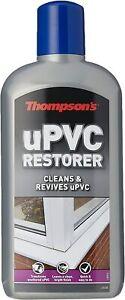 Upvc Restorer 480ml Thompsons Cleaner Window Door Cream Frame Cleans Bond Frames