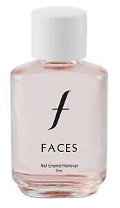 Faces Nail Enamel, Nail polish Remover ,Transparent 01 30 ml