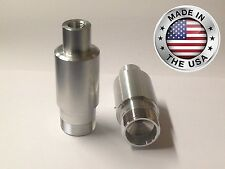 "Harley 41mm Fork Tube 2"" Extensions for Progressive Gas Inserts Street Glide etc"