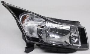 Halogen Headlight For 2011-2015 Chevrolet Cruze 2nd Design Right w// Bulb CAPA s